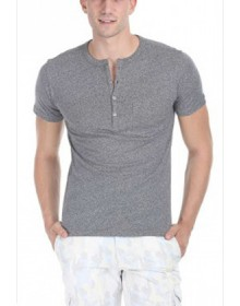 Zobello Men's Henley T Shirt